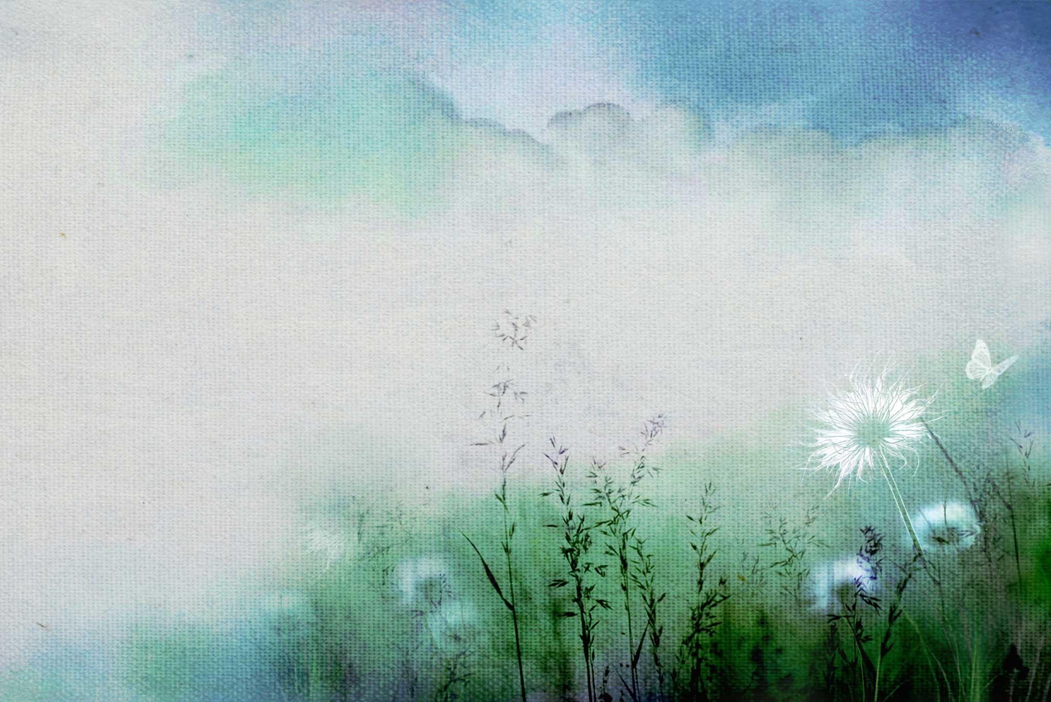 tapet-fototapet-design-decor-mural-customizabil-comanda-personalizat-bucuresti-daring-prints-motiv-model-desen-acuarela-pastel-bleu-verde-papadii-fluture-alb