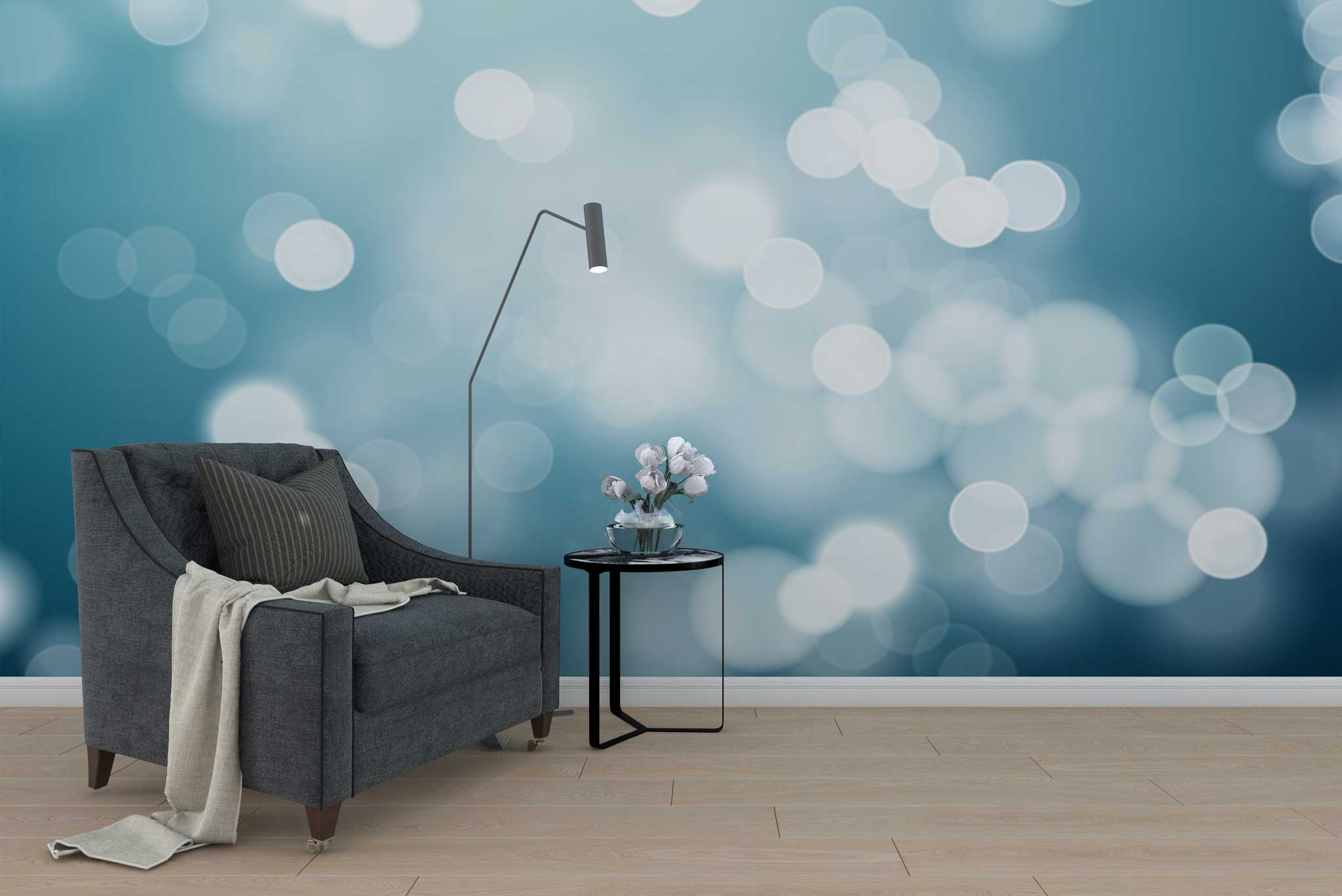 tapet-fototapet-special-personalizat-customizabil-comanda-bucuresti-daring-prints-model-imagine-halou-lumini-grafic-albastru