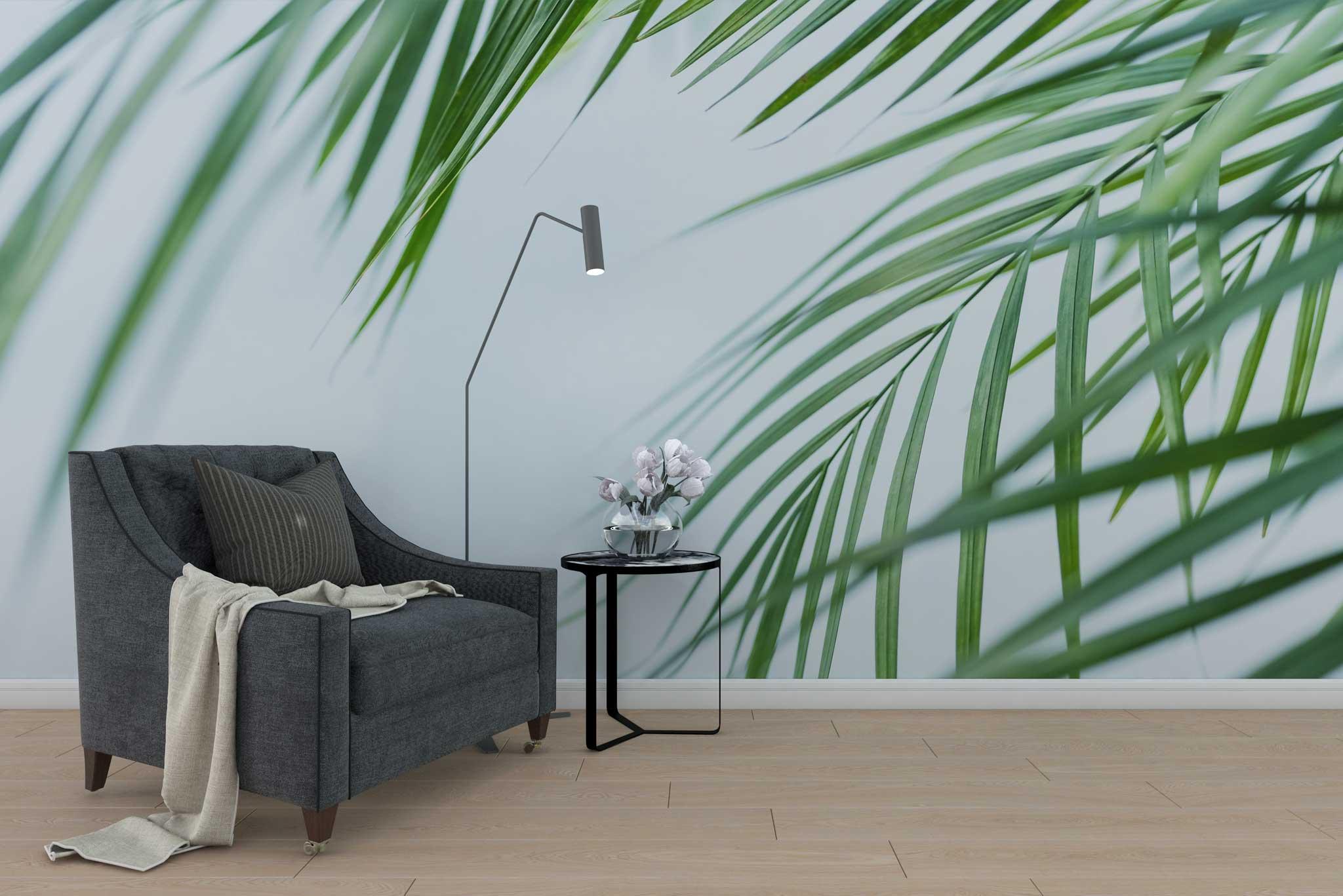tapet-fototapet-special-personalizat-customizabil-comanda-bucuresti-daring-prints-model-imagine-macro-frunze-motiv-vegetal-frunze-verzi