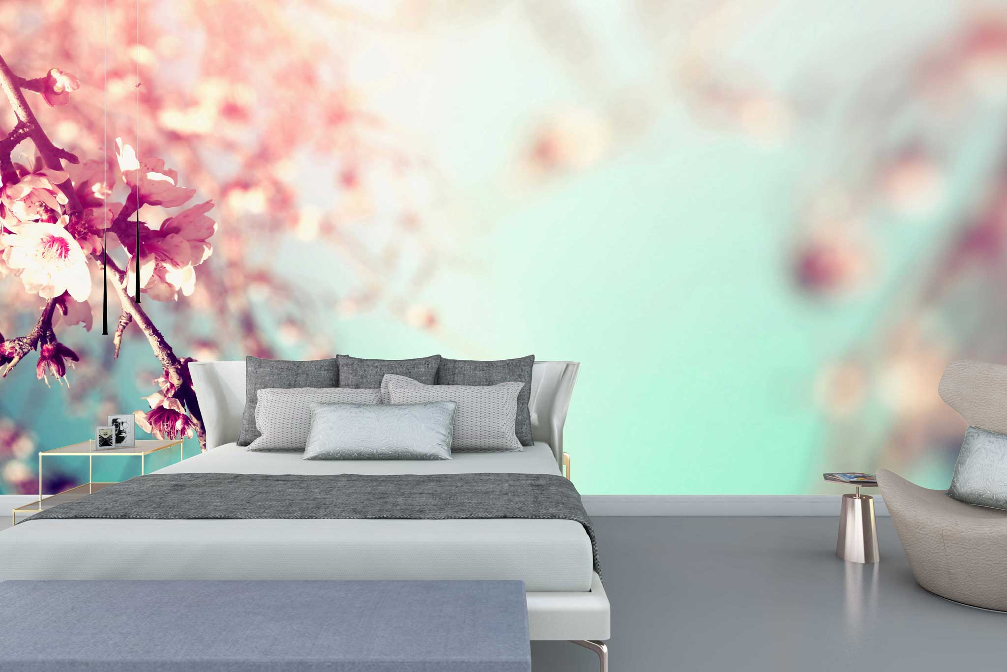 tapet-fototapet-comanda-personalizat-bucuresti-perete-special-lux-model-fotografie-crengi-flori-cires-roz