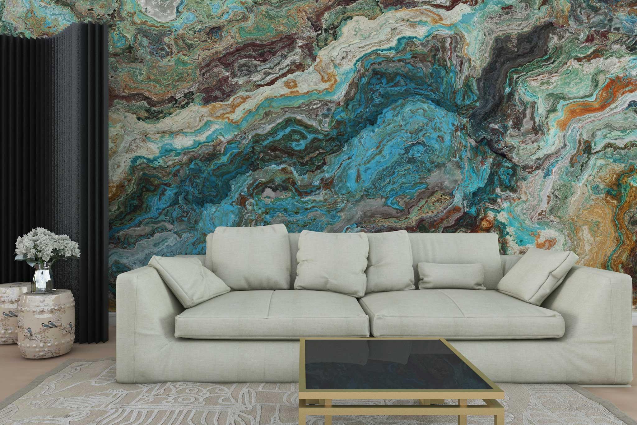 tapet-fototapet-personalizat-comanda-bucuresti-model-mineral-piatra-naturala-albastru-perete-lux-special