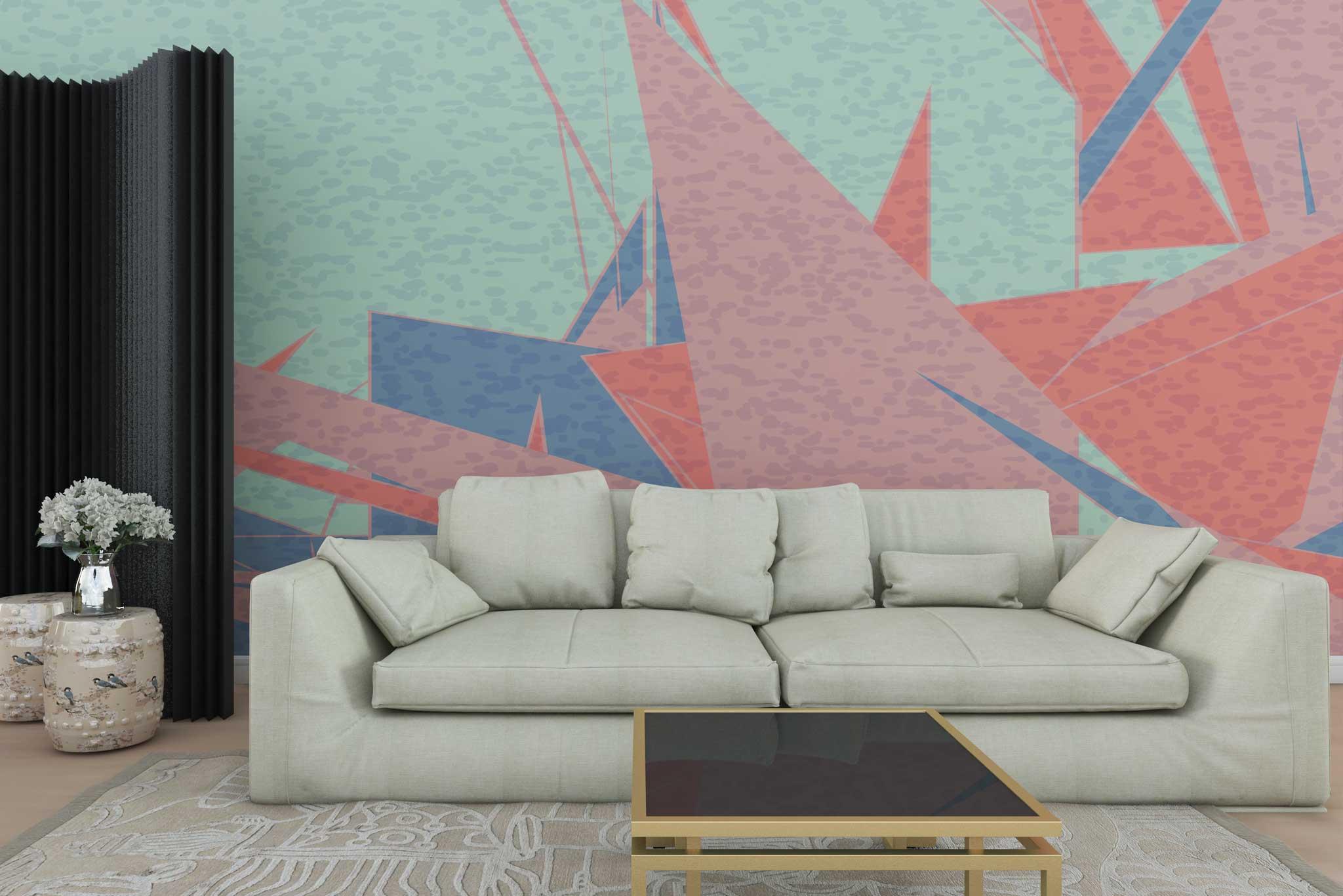 tapet-fototapet-personalizat-comanda-bucuresti-pictura-abstracta-grafic-model-geometric-multicolor-perete-lux-special