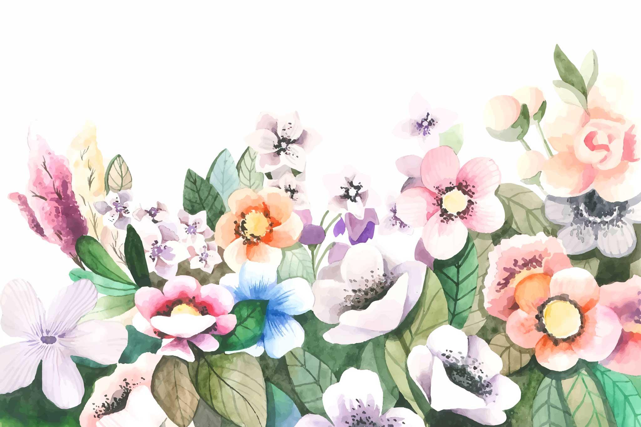 tapet-fototapet-design-decor-mural-customizabil-comanda-personalizat-bucuresti-daring-prints-motiv-model-copii-desen-acuarela-flori-fluturi-pastel