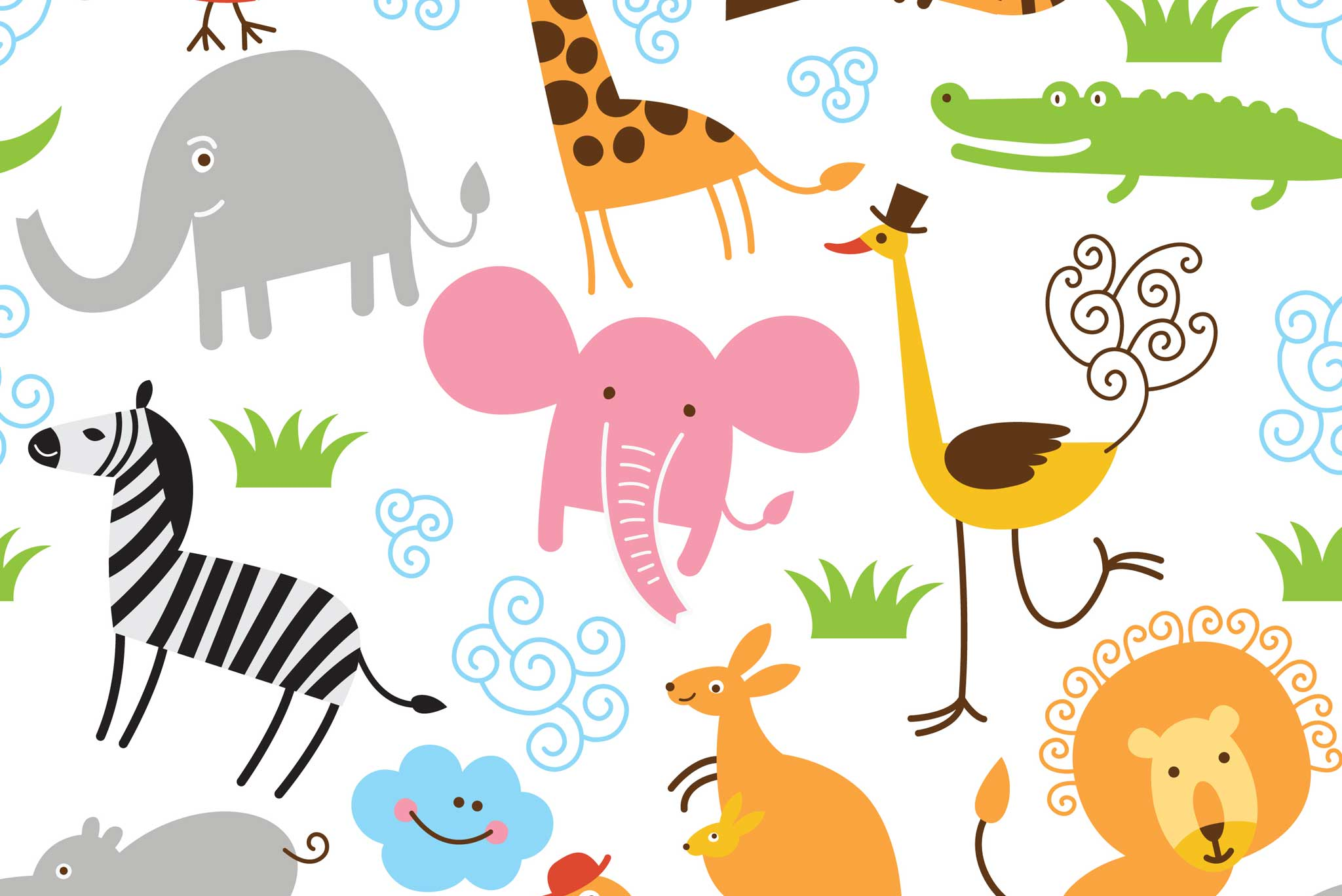 tapet-fototapet-design-decor-mural-customizabil-comanda-personalizat-bucuresti-daring-prints-motiv-model-copii-desen-animale-jungla-safari-multicolor