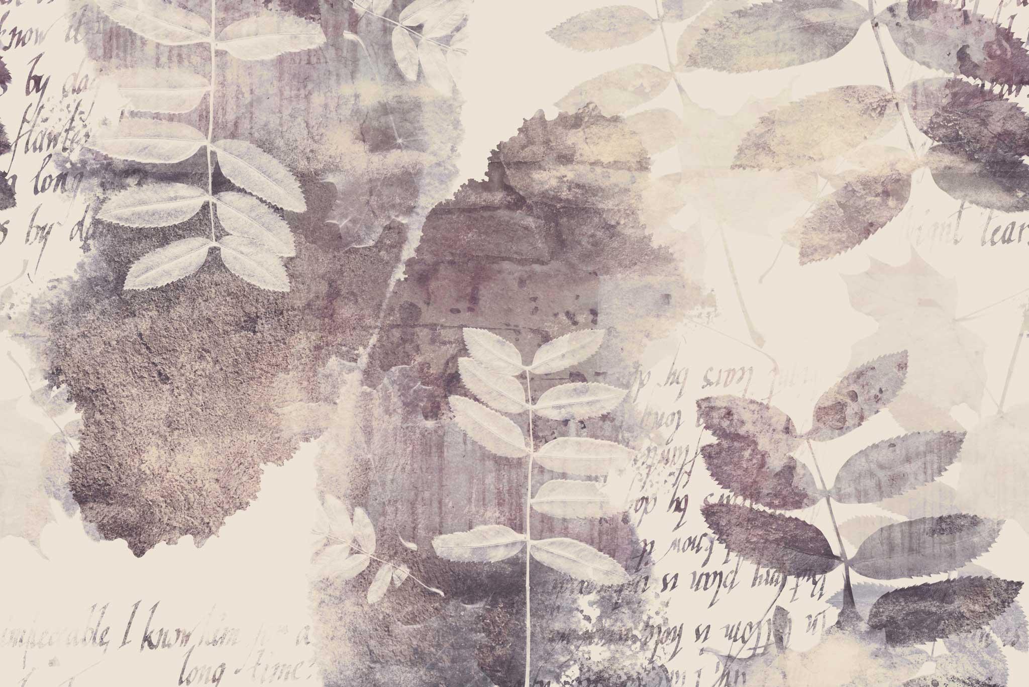 tapet-fototapet-design-decor-mural-customizabil-comanda-personalizat-bucuresti-daring-prints-motiv-model-vintage-romantic-vegetal-frunze-pastel