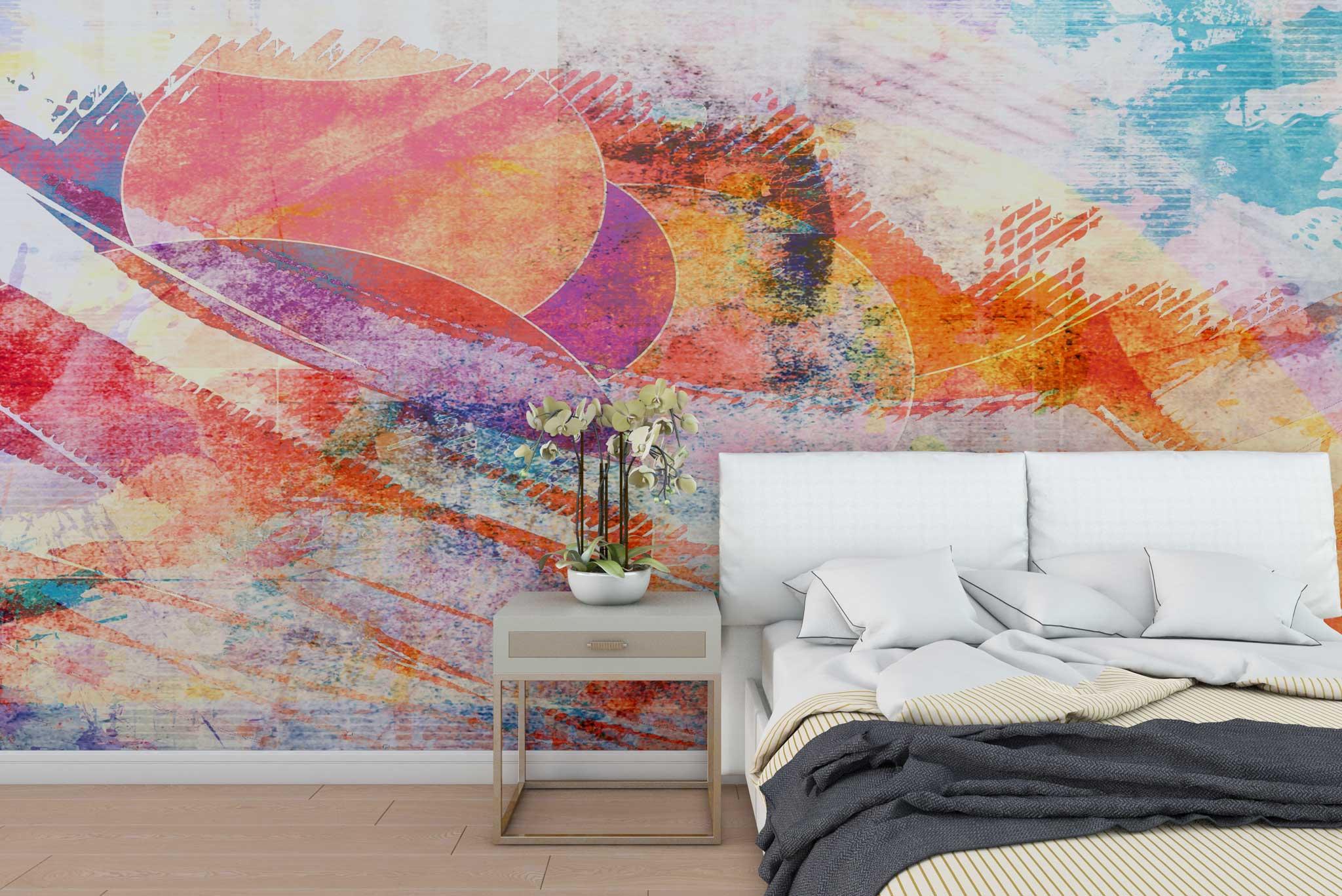 tapet-fototapet-bucuresti-comanda-personalizat-perete-lux--model-abstract-geometric-multicolor