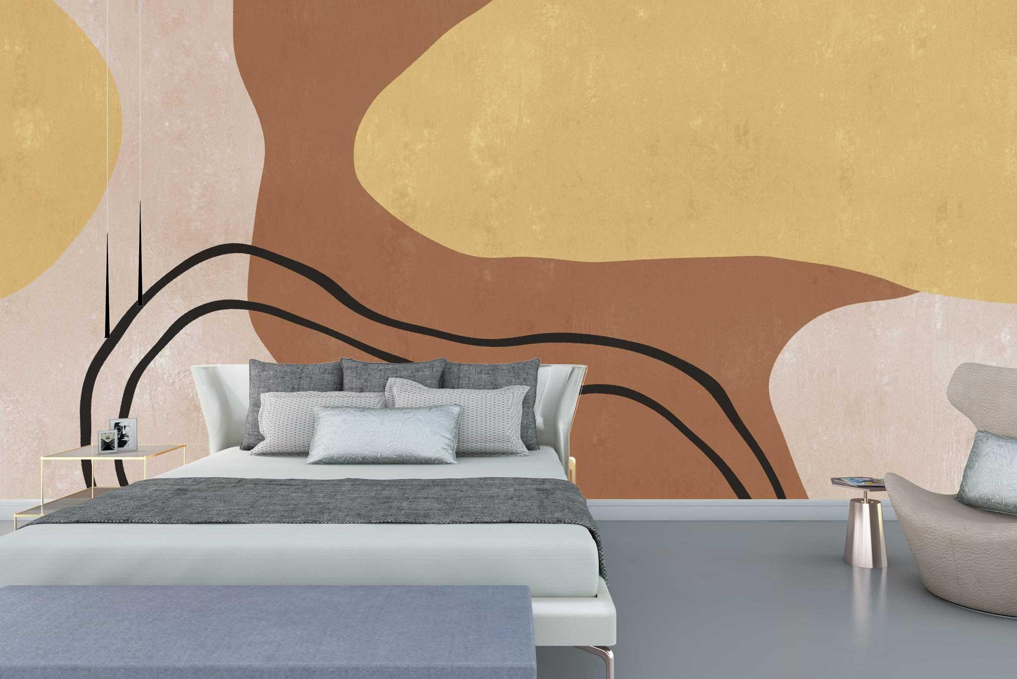 tapet-fototapet-comanda-personalizat-bucuresti-perete-special-lux-model-desen-grafic-abstract-bej-crem-auriu