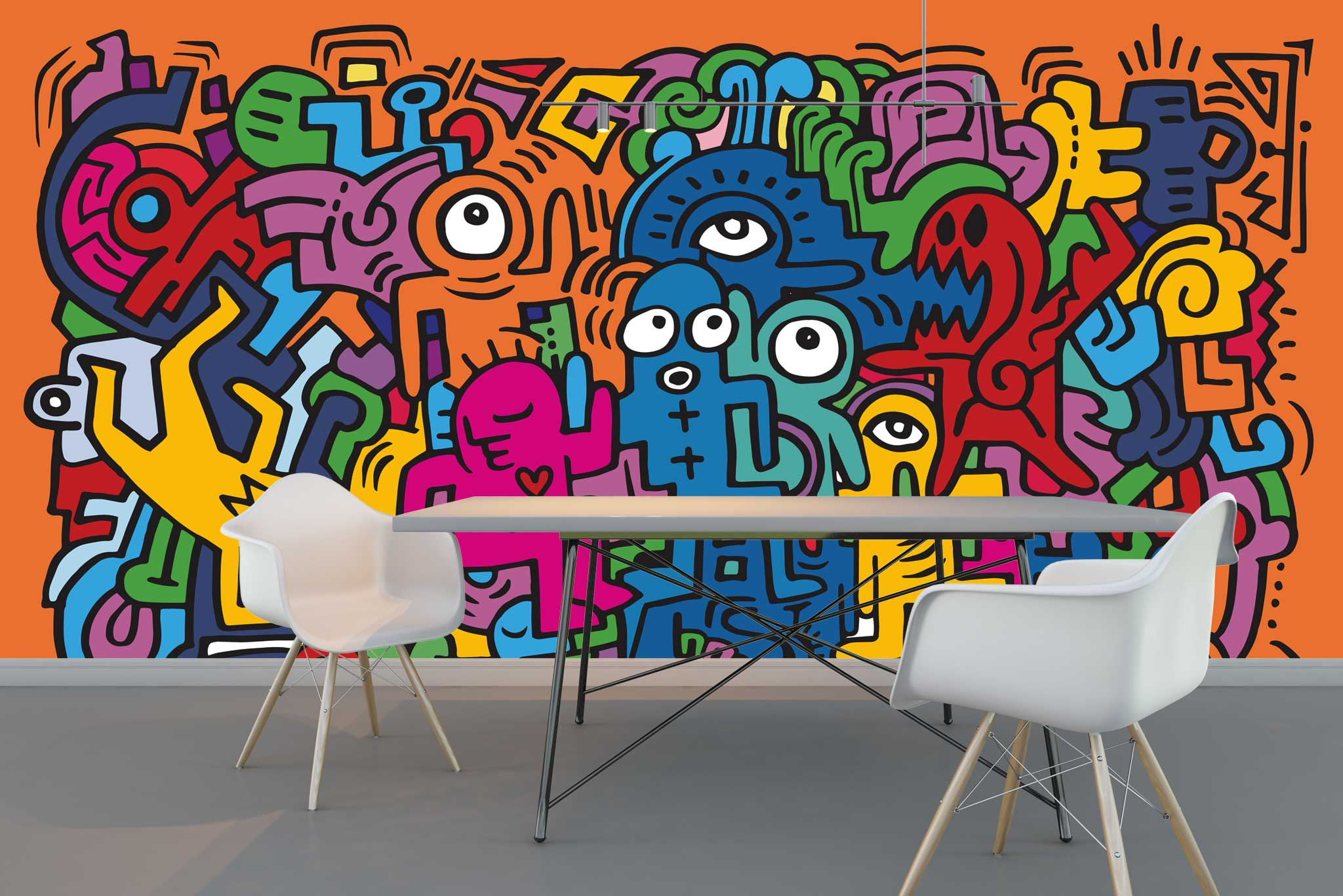 tapet-fototapet-comanda-personalizat-bucuresti-perete-special-lux-model-desen-grafic-graffitti-multicolor