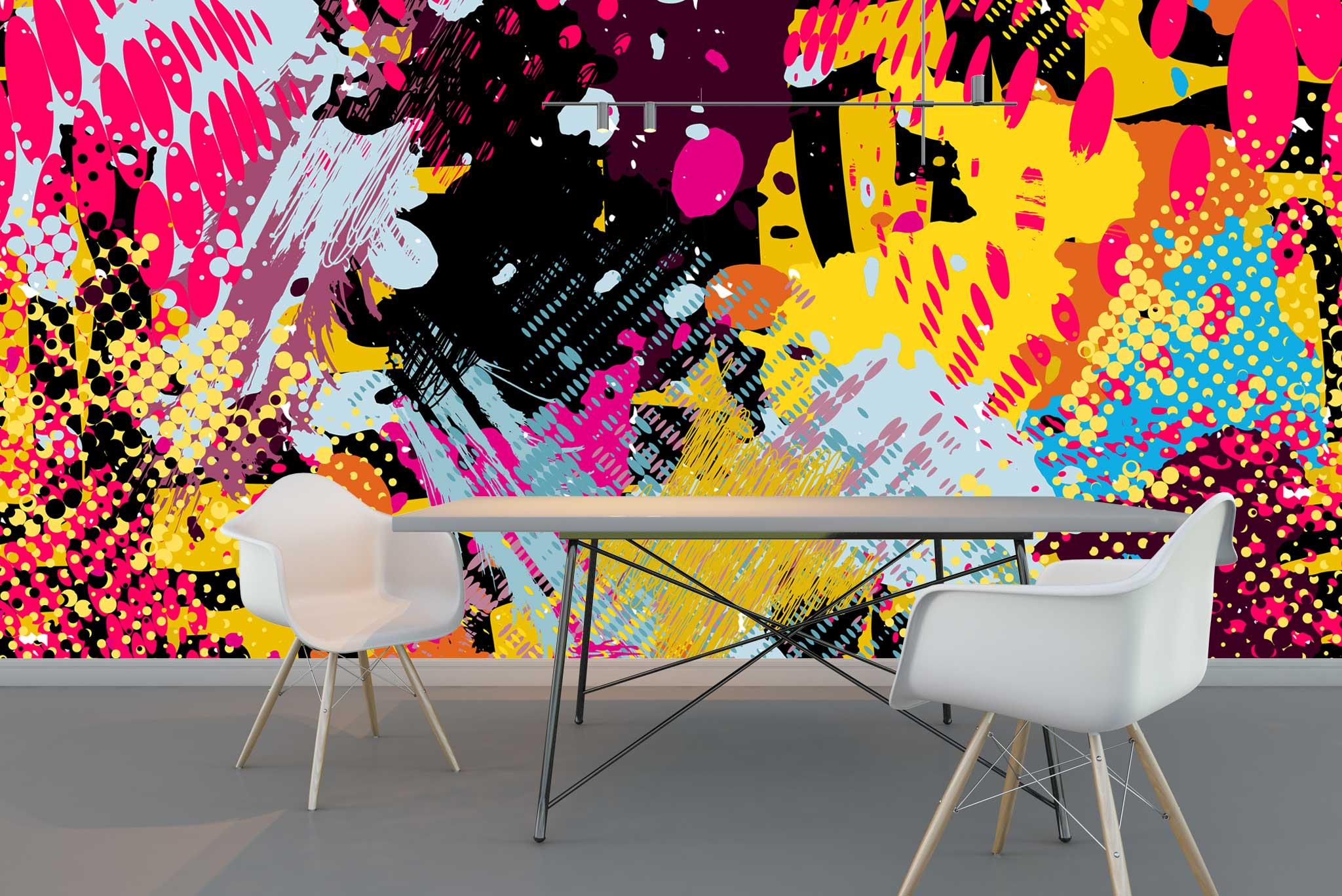 tapet-fototapet-comanda-personalizat-bucuresti-perete-special-lux-model-desen-grafic-pop-art-graffitti-multicolor