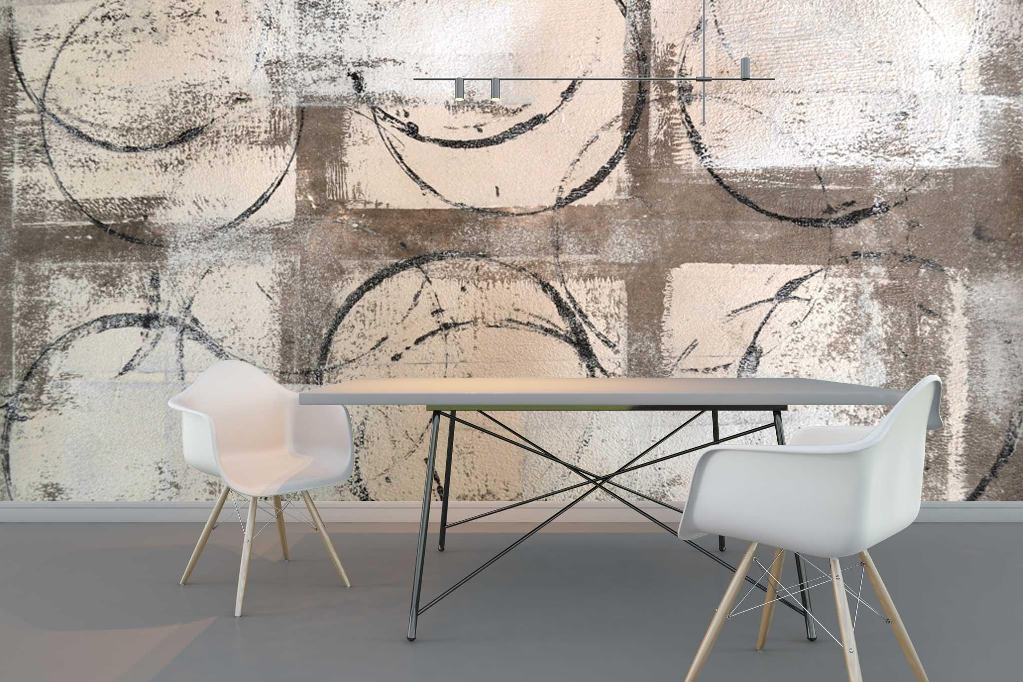 tapet-fototapet-comanda-personalizat-bucuresti-perete-special-lux-model-pictura-desen-abstract-cercuri-argintiu