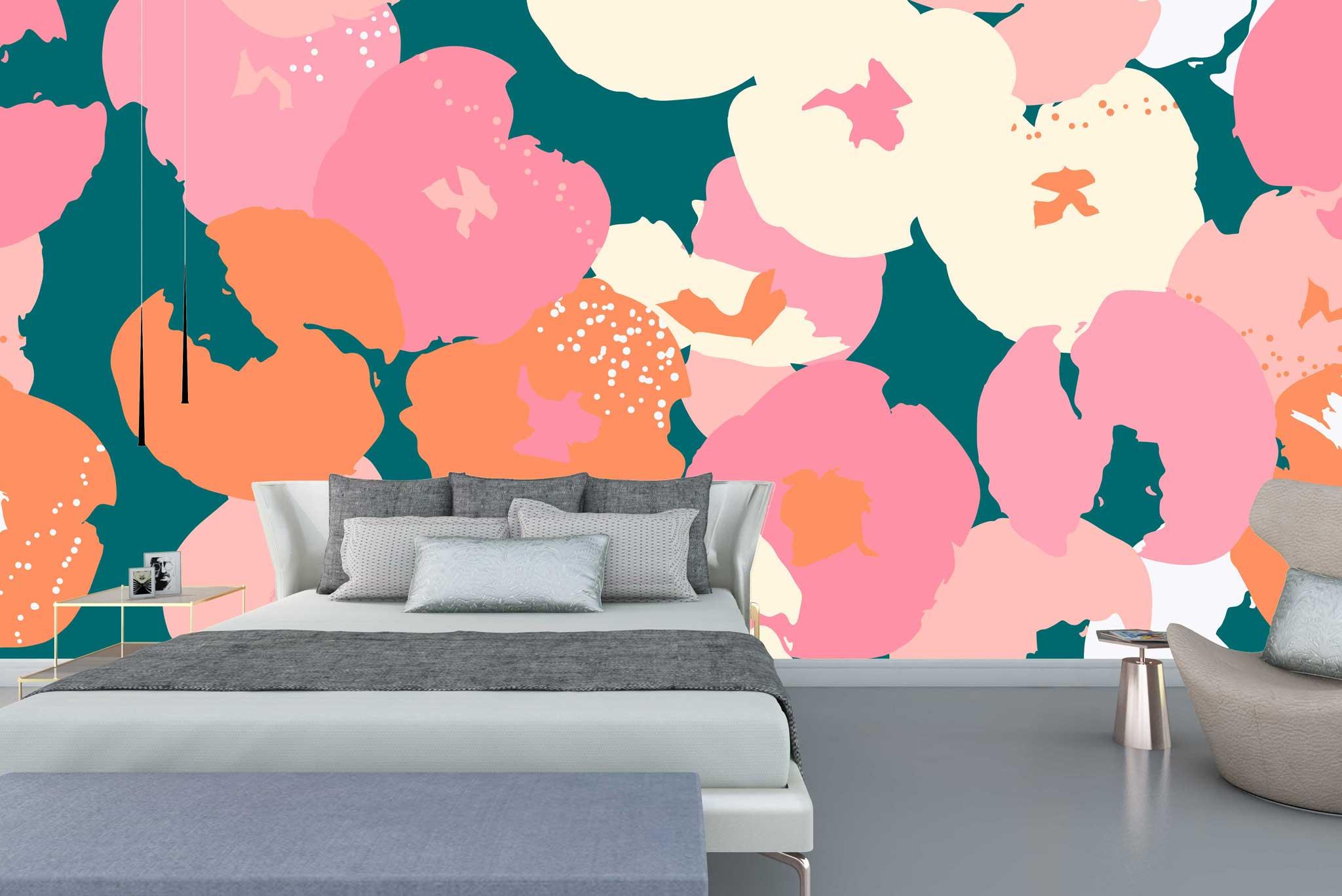 tapet-fototapet-comanda-personalizat-bucuresti-perete-special-lux-model-pictura-desen-multicolor-flori