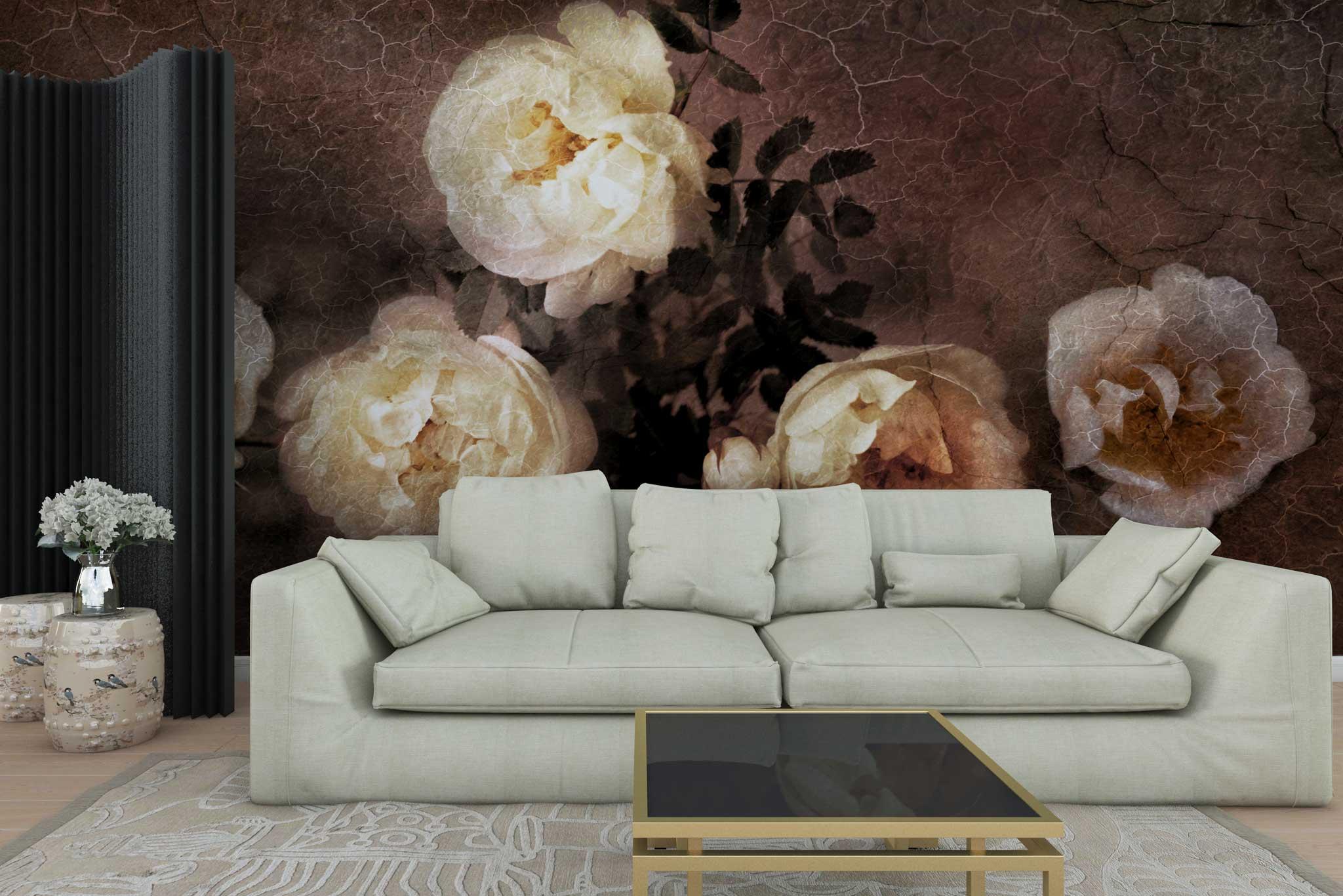 tapet-fototapet-personalizat-comanda-bucuresti-model-floral-pictura-clasica-trandafiri-albi-perete-lux-special
