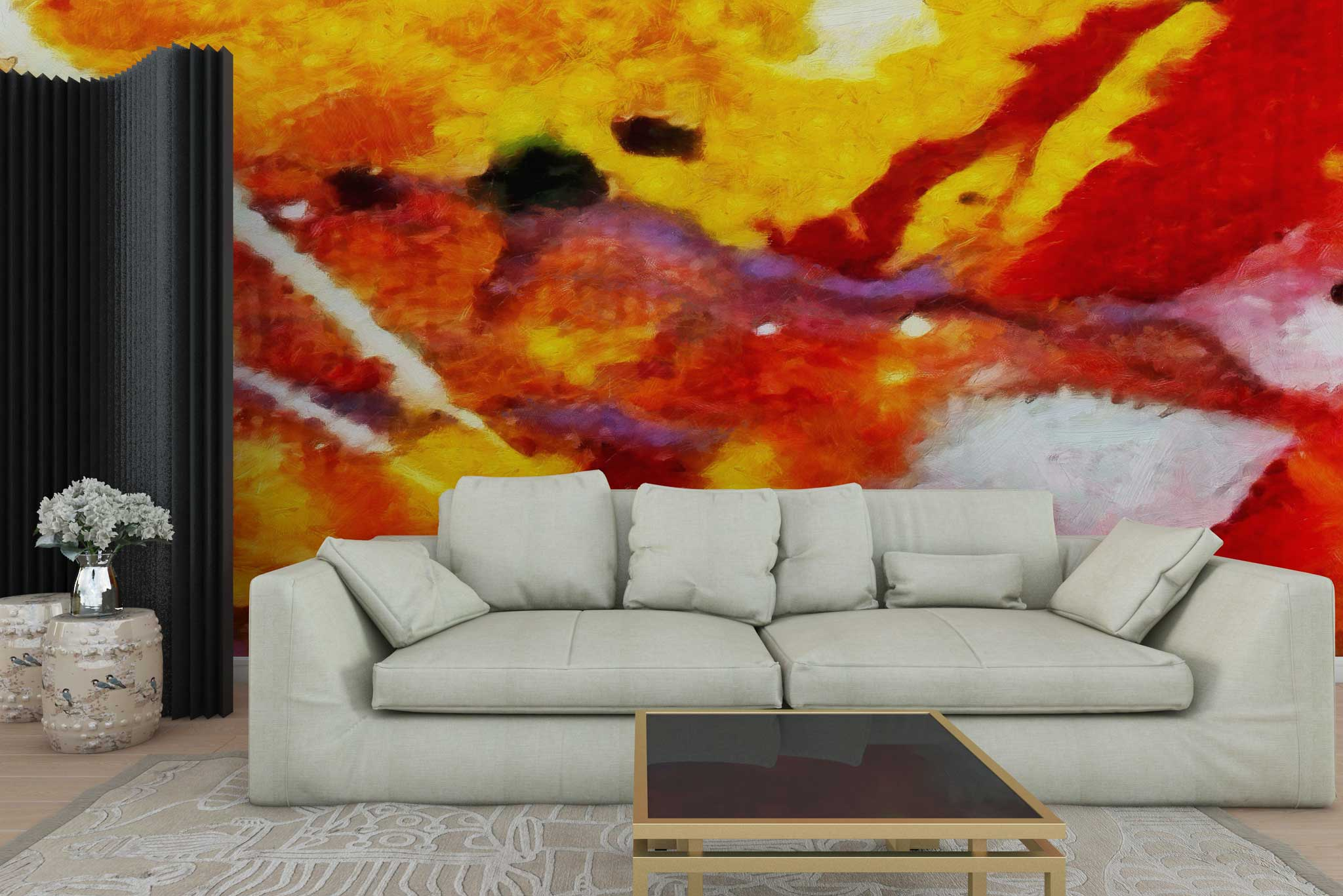 tapet-fototapet-personalizat-comanda-bucuresti-pictura-acuarela-abstract-rosuperete-lux-special