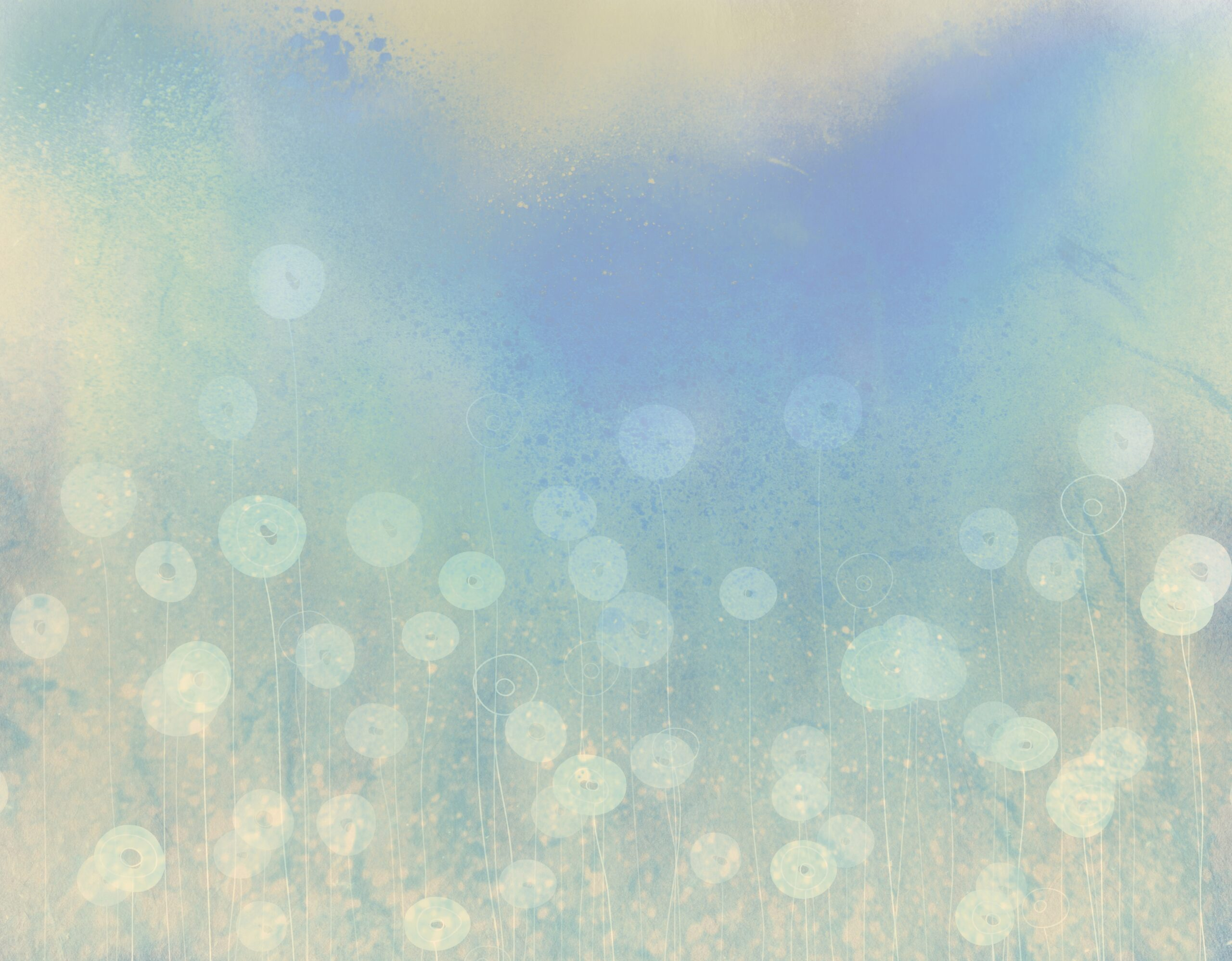 soft watercolor flowers. decorative abstract background. vintage style. suitable for a variety of designs and scrapbooking.